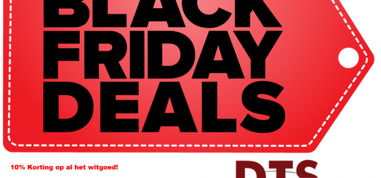 Aanstaande vrijdag 29 & 30 November Black Friday extra korting op witgoed en tuinmachines